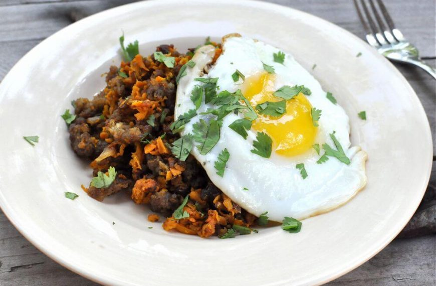 Sweet Potato Hash-Browns